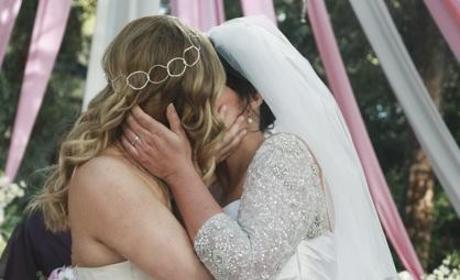 Lesbian Wedding Photo