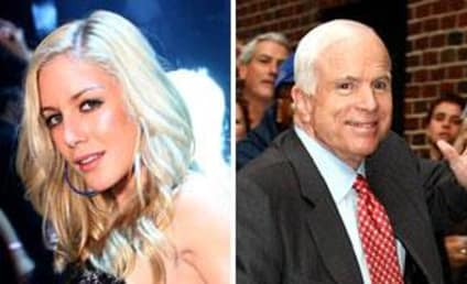 John McCain: Big Fan of The Hills, Heidi Montag