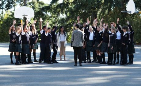 Happy Students - Once Upon a Time Season 6 Episode 4