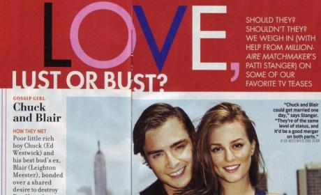 Blair and Chuck in TV Guide!