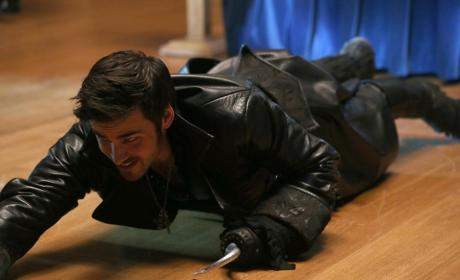 Hook's Desperate Attempt