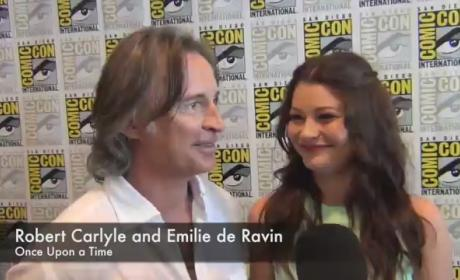 Robert Carlyle and Emile de Ravin Comic-Con Interview