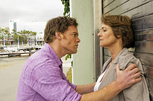 Dexter and Dr. Vogel