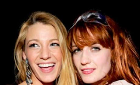 Blake Lively, Penn Badgley Party Away on New Year's