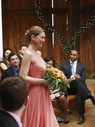 Meredith's Turn Down the Aisle