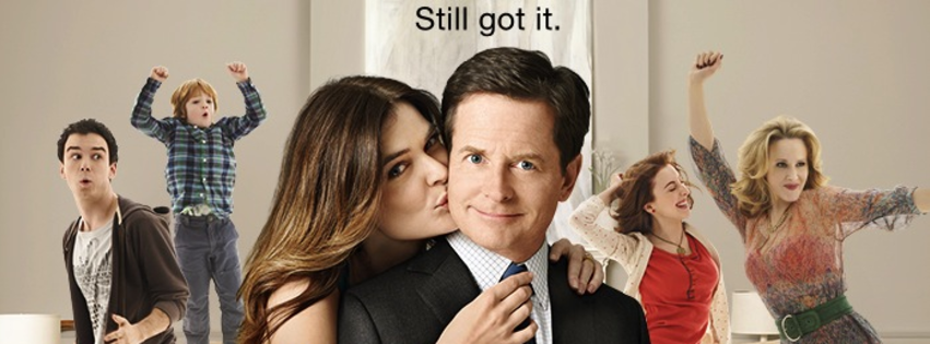 The michael j fox show poster
