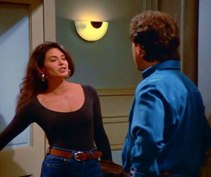 Teri Hatcher on Seinfeld