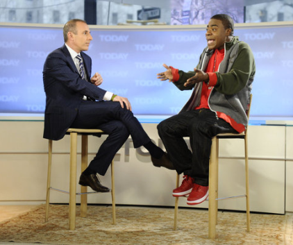 Tracy on Today Show