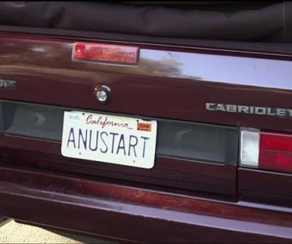 Tobias License Plate