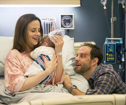 Polly gives birth
