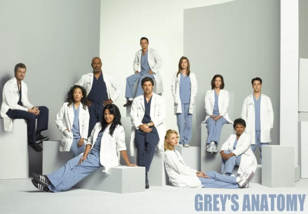 The Grey's Anatomy Cast