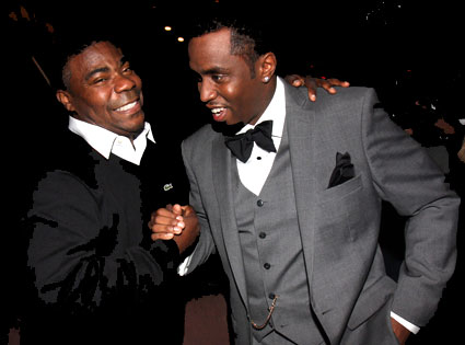 Diddy and Tracy Morgan