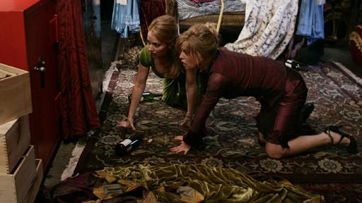 Amanda and Christina Find a Safe