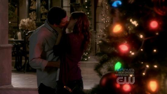 Megan and Will Kiss
