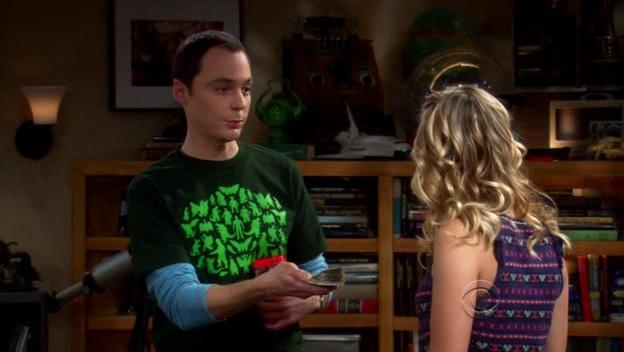 Sheldon Lends Penny Money