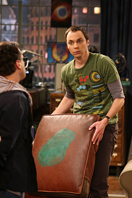 Sheldon is Horrified
