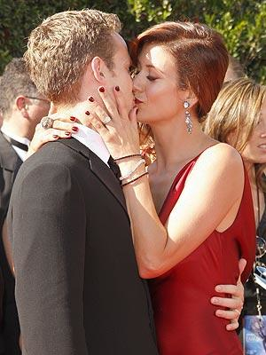 Kate and Alex Kiss