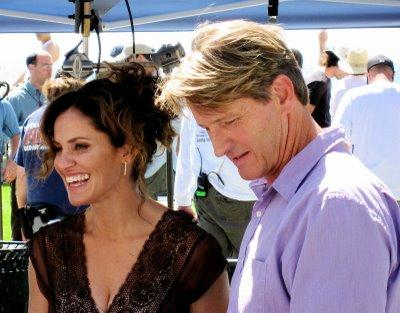 Amy Brenneman and Brett Cullen