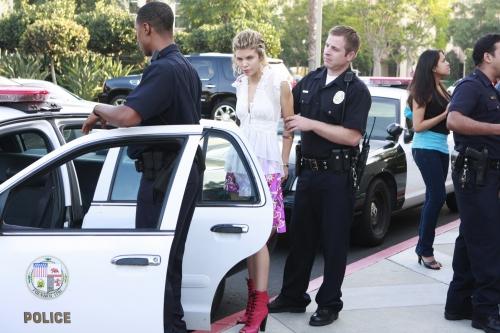 Naomi Arrested