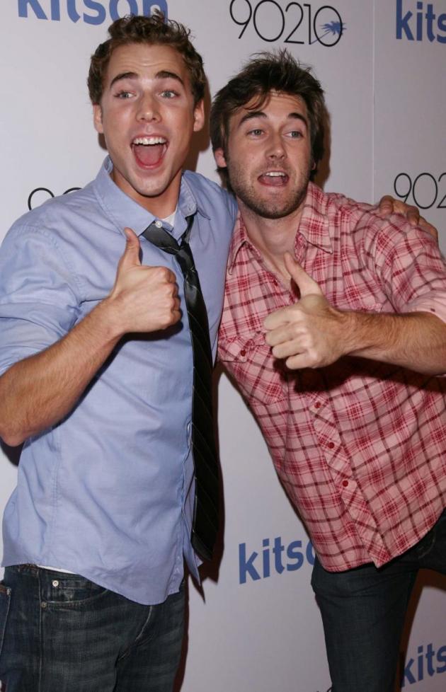 Dustin Milligan, Ryan Eggold