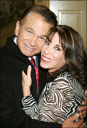 David Leisure and Kate Linder