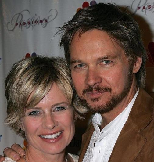 Stephen Nichols and Mary Beth Evans