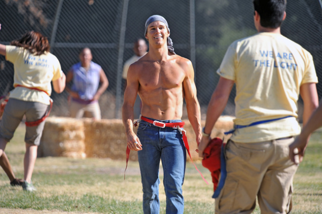 Shirtless Jason Stackhouse