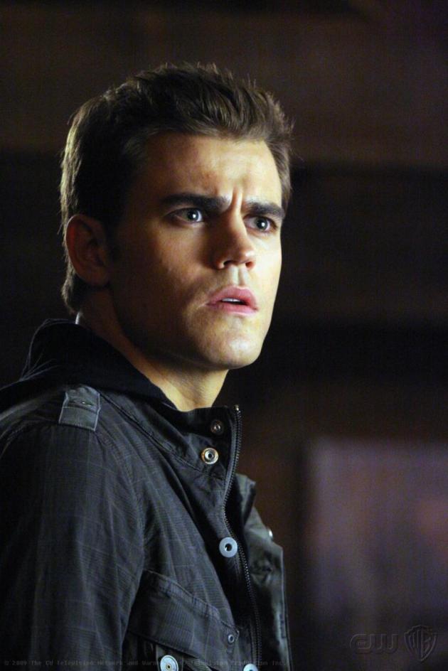 Paul Wesley as Stefan Salvatore