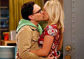 Leonard and Penny Make Out