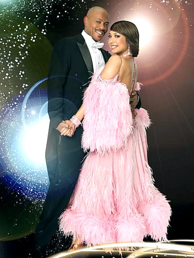 Cheryl Burke and Maurice Greene
