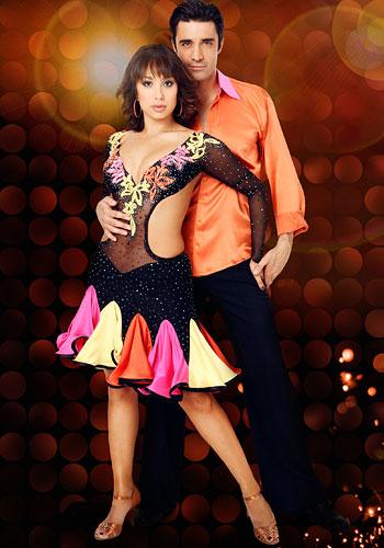 Cheryl Burke and Gilles Marini Pic