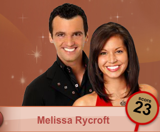 Tony Dovolani and Melissa Rycroft