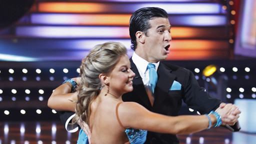 Mark Ballas and Shawn Johnson Routine