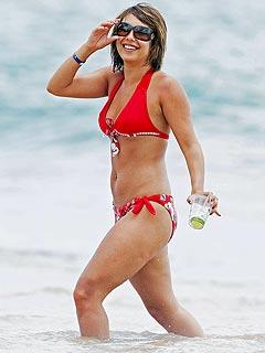 Cheryl Burke in a Bikini