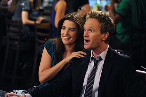 Barney and Robin Struggling