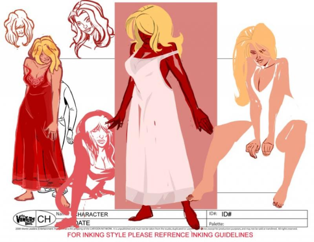 Nikki Nightgown Concept Art