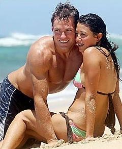 Andy Baldwin, Tessa Horst in Hawaii