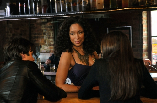 Gina Torres on The Vampire Diaries