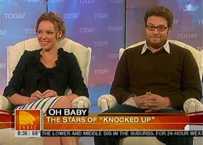 The Stars of Knocked Up