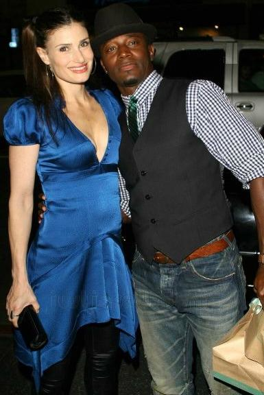Taye Diggs and Wife