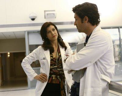 Addison and Derek Have a Chat