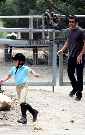 Patrick Dempsey and Daughter - TV Fanatic