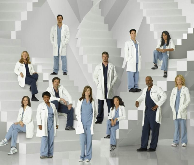 Grey's Anatomy Season 5 Cast