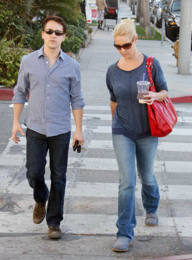 Katherine Heigl and T.R. Knight Photo