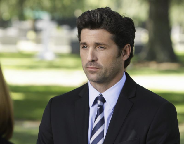 McDreamy at the Funeral