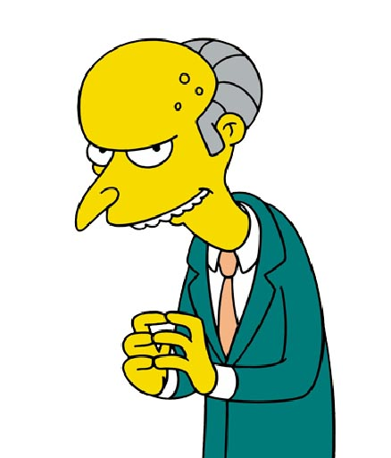 Mr. Burns Picture