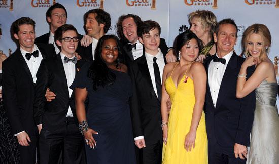 Glee at Golden Globes