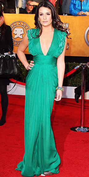 Lea Michele at SAG Awards