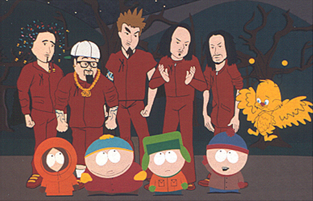 Korn on South Park