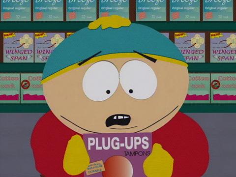Cartman Gets His Period